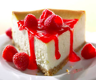 Cheesecake - a well-known calorie trap...