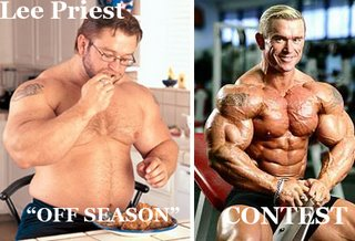 Not everyone can be Lee Priest