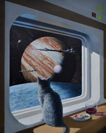 Dans mon dernier rêve, j'étais seul dans un vaisseau, à des années lumière de la terre, entouré de tous les livres de l'univers. J'avais sur moi la tenue du capitaine Kirk, en lisant un passage de K. DIck.